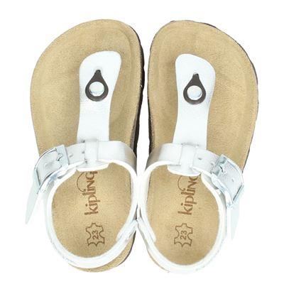 Kipling meisjes sandalen zilver
