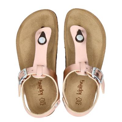 Kipling meisjes sandalen brons