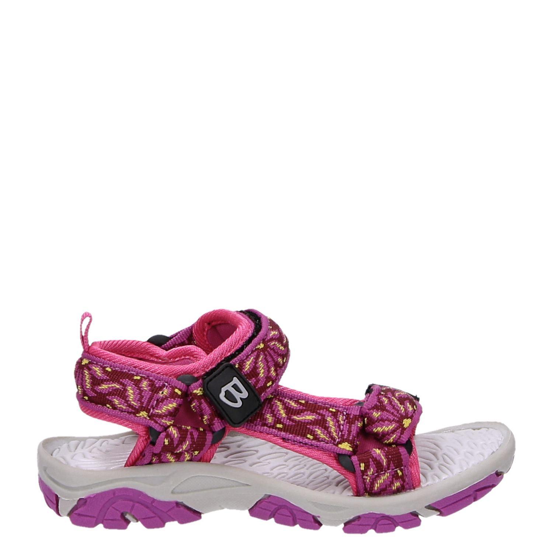 Brakkies Kinderschoenen.Brakkies Meisjes Sandalen Roze
