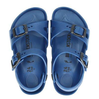 Birkenstock meisjes sandalen blauw