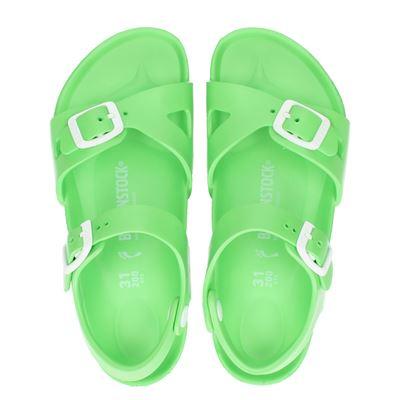 Birkenstock meisjes sandalen groen