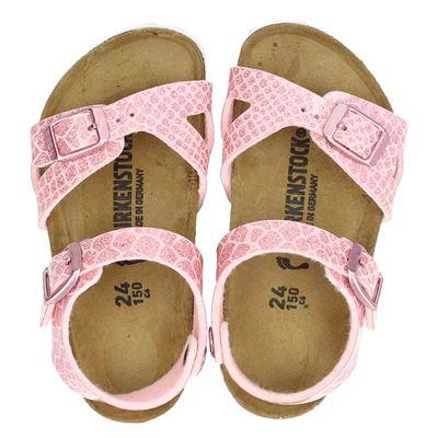 Birkenstock meisjes sandalen roze