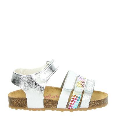 Develab meisjes sandalen zilver