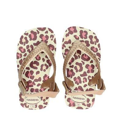 Havaianas meisjes sandalen beige
