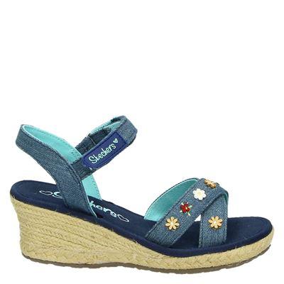 Skechers meisjes sandalen blauw