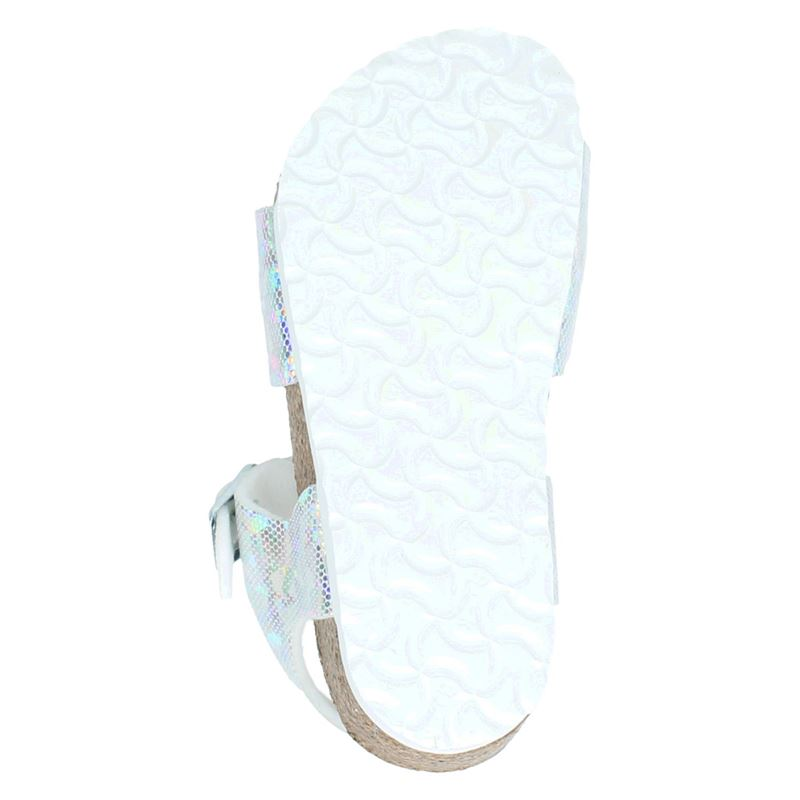 Birkenstock Rio - Slippers - Zilver