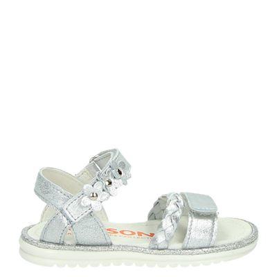 Orange Babies meisjes sandalen zilver