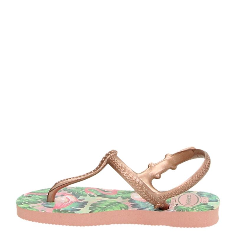 Havaianas Freedom Print - Slippers - Rose goud
