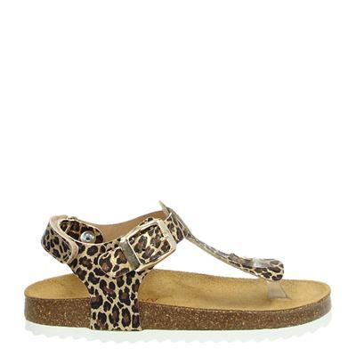 Develab meisjes sandalen bruin
