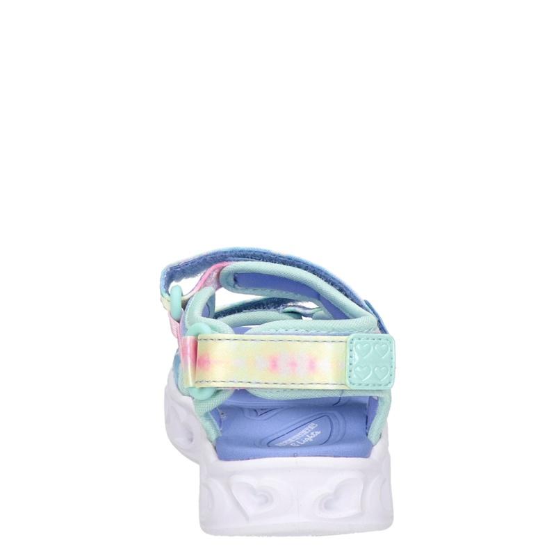 Skechers Heart Lights - Sandalen - Blauw