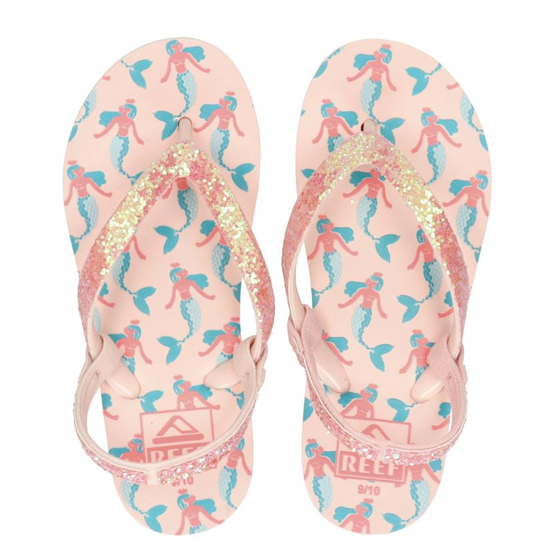 Reef Little stargazer Mermaid - Slippers - Roze