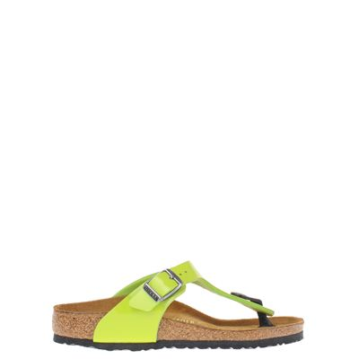 Birkenstock meisjes slippers groen