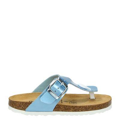 Nelson Kids meisjes slippers blauw