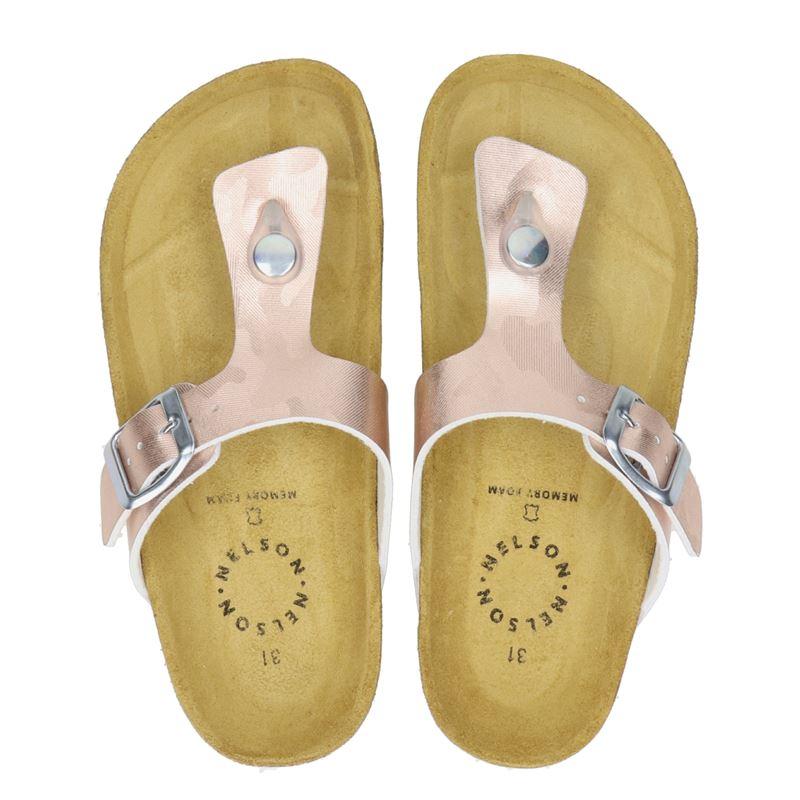 Nelson Kids - Slippers - Rose goud