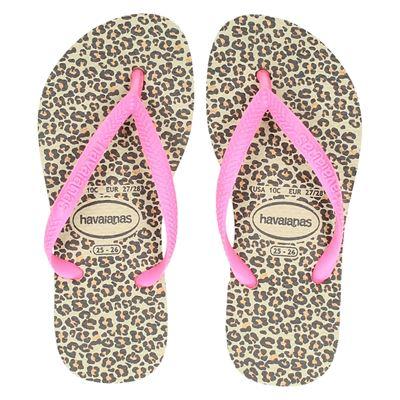Havaianas meisjes slippers beige