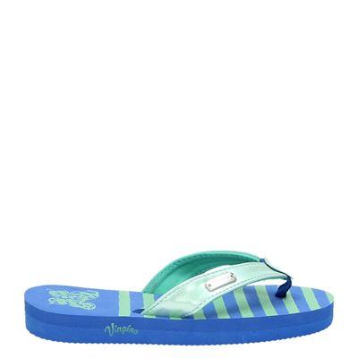 Vingino meisjes slippers blauw