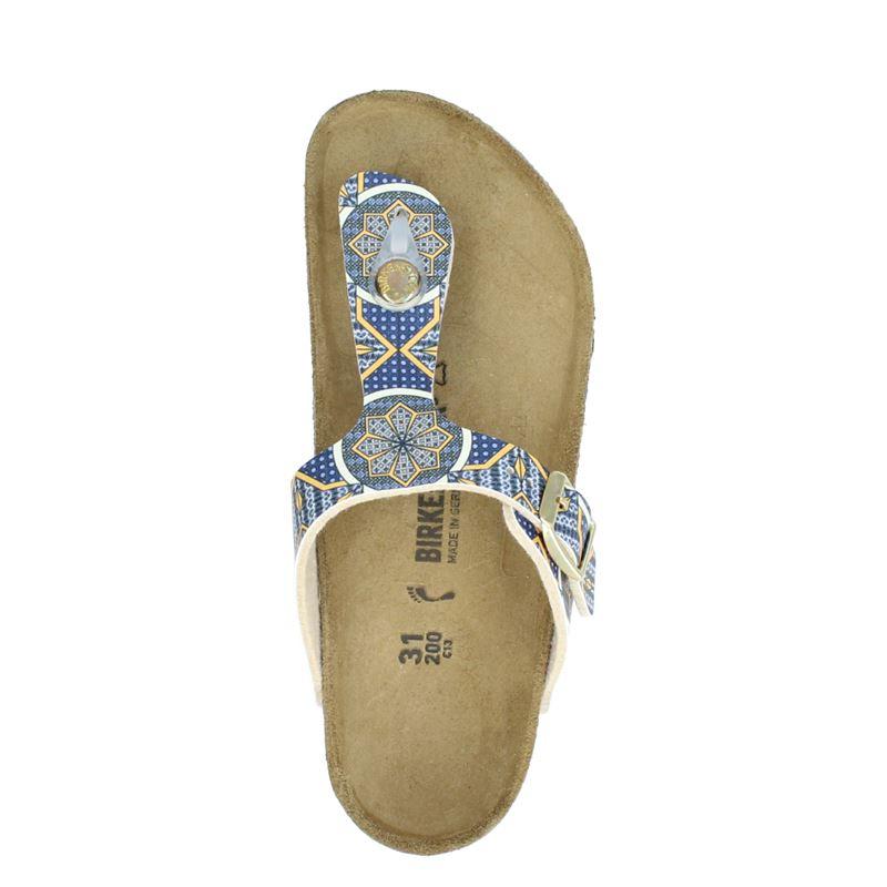 Birkenstock Gizeh - Slippers - Blauw