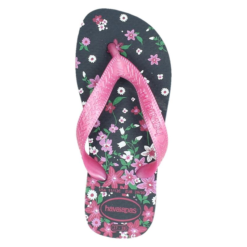 Havaianas Kids Flores - Slippers - Blauw