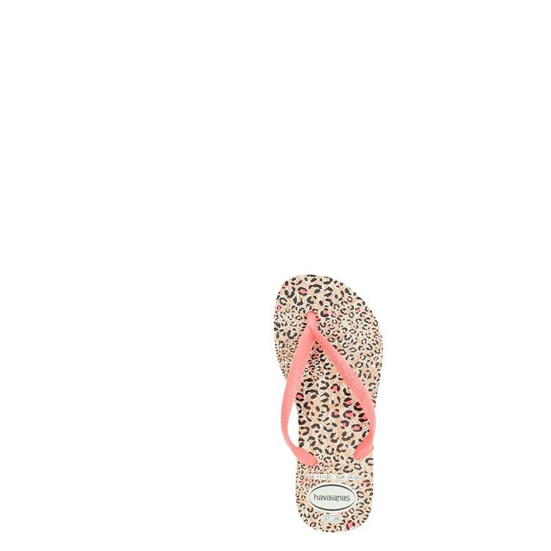 Havaianas Slim Animal - Slippers - Roze