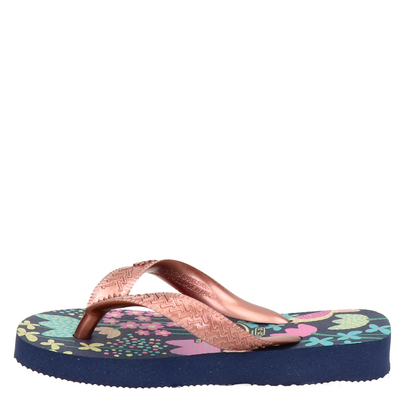 Havaianas Flores - Slippers - Rose goud