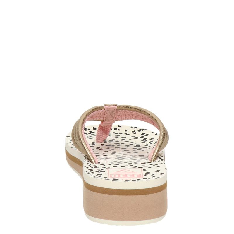 Reef Ahi Wedge - Slippers - Rose goud