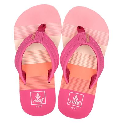 Reef meisjes slippers roze