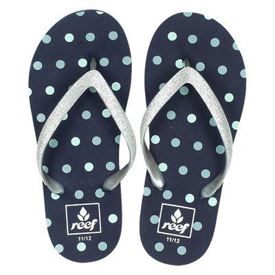 Reef meisjes slippers blauw