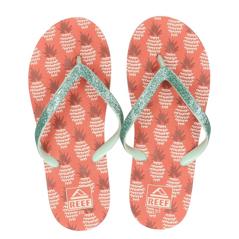 Reef Kids Stargazer Pineapple - Slippers - Groen