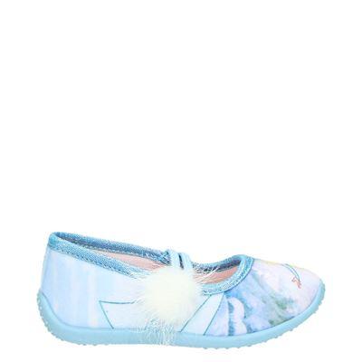 Frozen meisjes pantoffels blauw