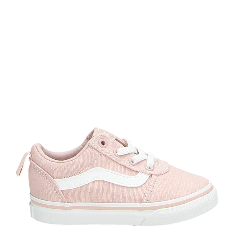 f76b65d954 Vans TD Ward jongens meisjes lage sneakers roze