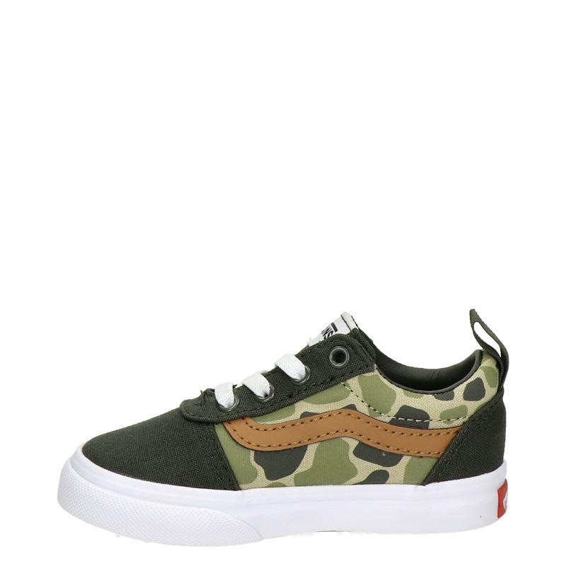 Vans TD Ward - Lage sneakers - Groen