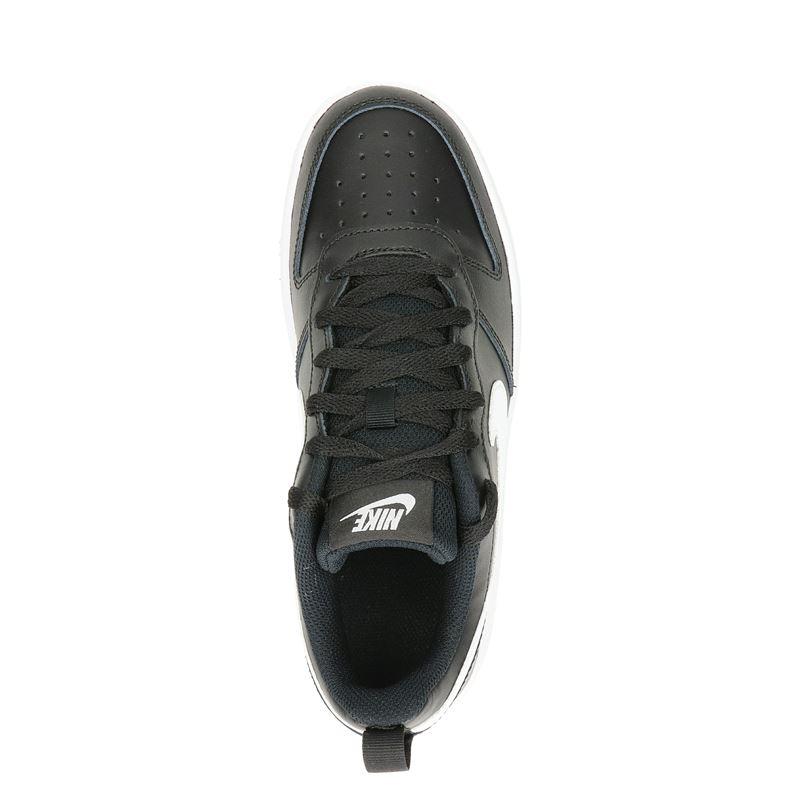 Nike Court borough 2 BK - Lage sneakers - Zwart