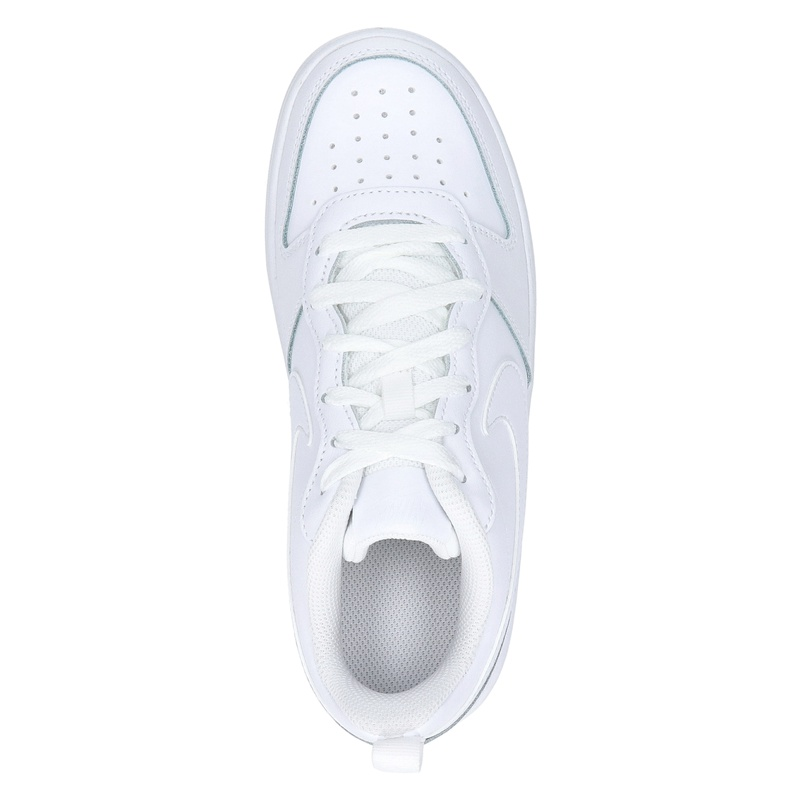 Nike Court borough 2 BK - Lage sneakers - Wit