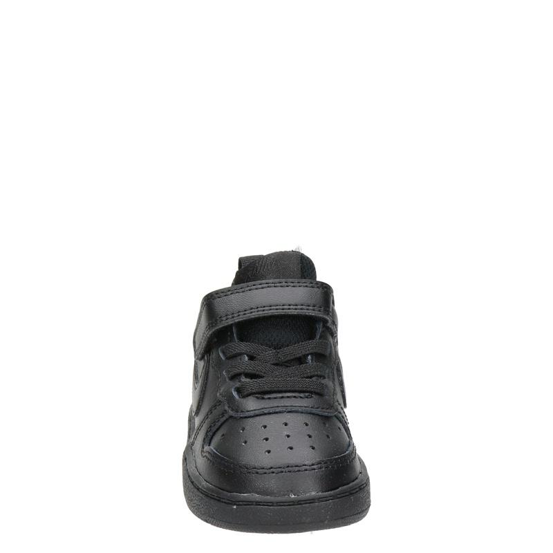 Nike Court Borough Low 2 - Klittenbandschoenen - Zwart