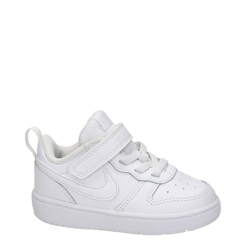 Nike Court Borough Low 2 - Klittenbandschoenen - Wit