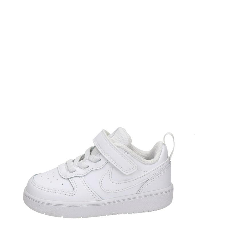 Nike Court Borough Low 2 - Klittenbandschoenen - Wit