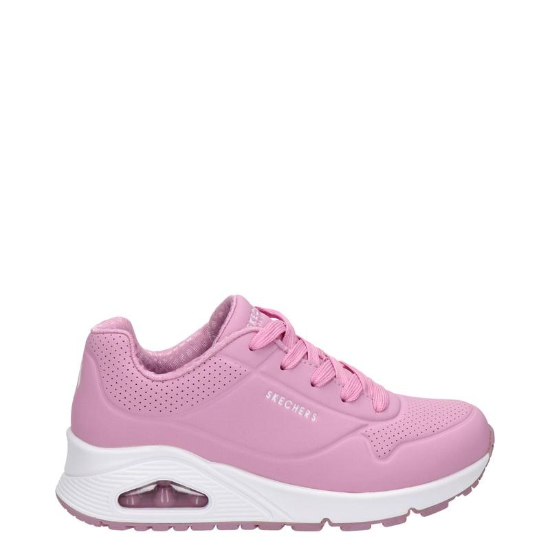 Skechers Uno - Lage sneakers - Roze