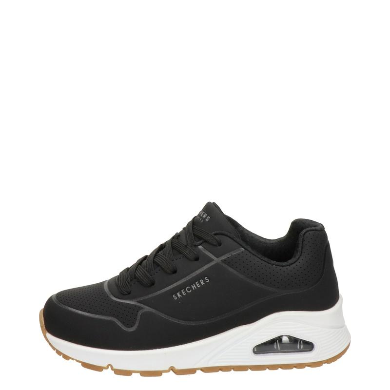 Skechers Stand On Air - Lage sneakers - Zwart