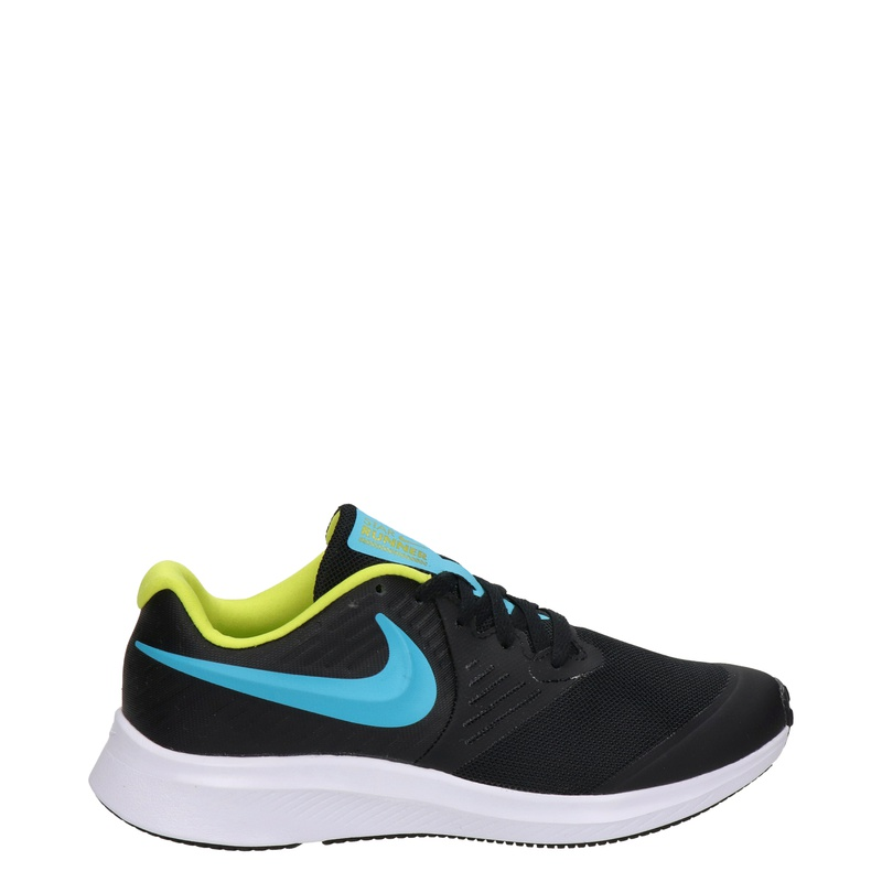 Nike Star Runner 2 GS - Lage sneakers - Zwart