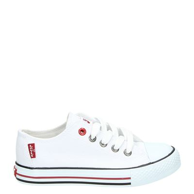 Levi's jongens/meisjes sneakers wit