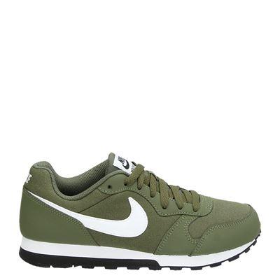 Nike jongens/meisjes sneakers groen