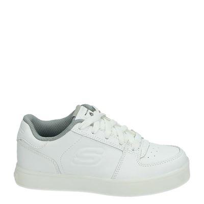 Skechers jongens/meisjes sneakers wit