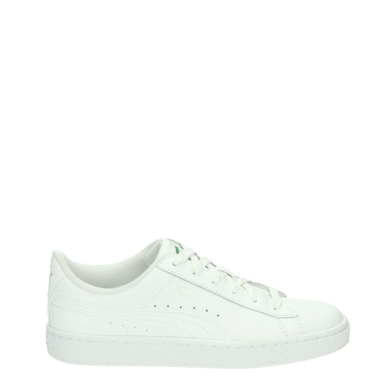 503de8e8d79 Puma Basket Classic jongens/meisjes lage sneakers wit