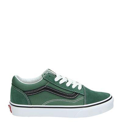Vans jongens/meisjes sneakers groen