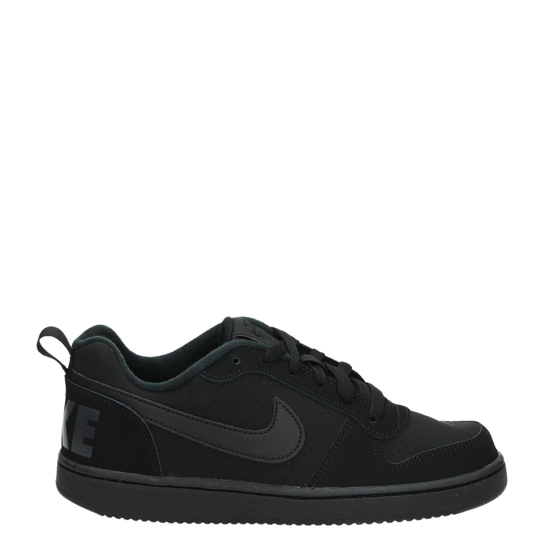 quality design 7e3a2 754e3 Nike Court Borough jongensmeisjes lage sneakers zwart