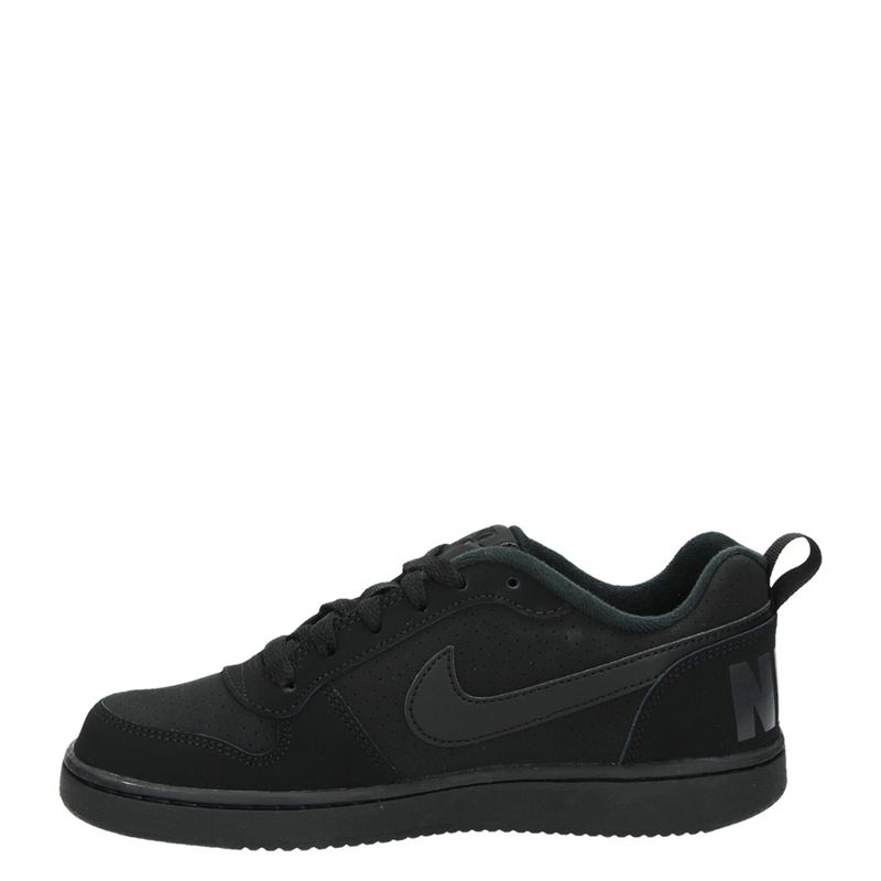 Nike Court Borough - Lage sneakers - Zwart