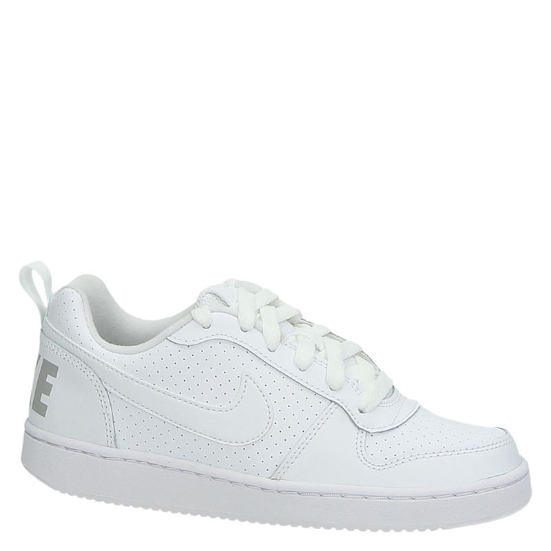 Nike Court Borough - Lage sneakers - Wit