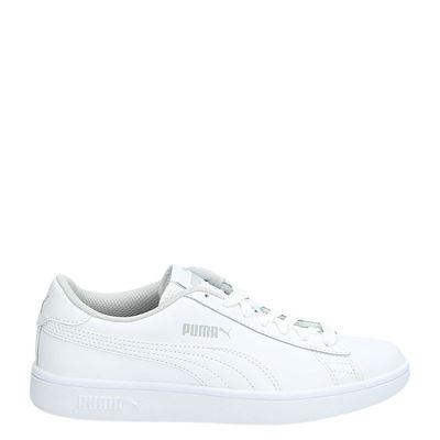 Puma jongens/meisjes sneakers wit