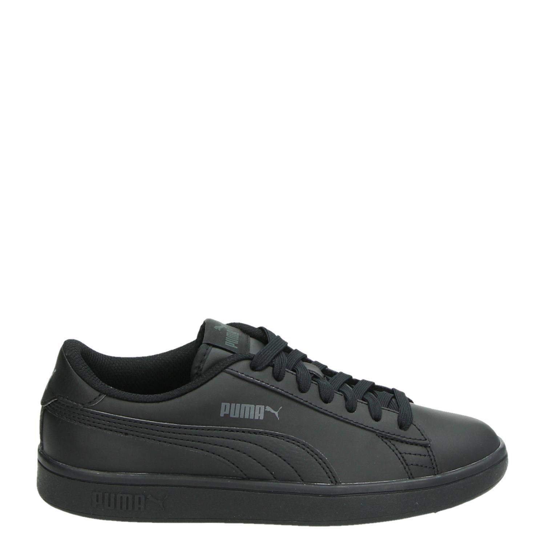 867699fcb4b Puma Smash V2 jongens/meisjes lage sneakers zwart