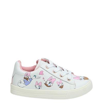 Disney jongens/meisjes lage sneakers wit
